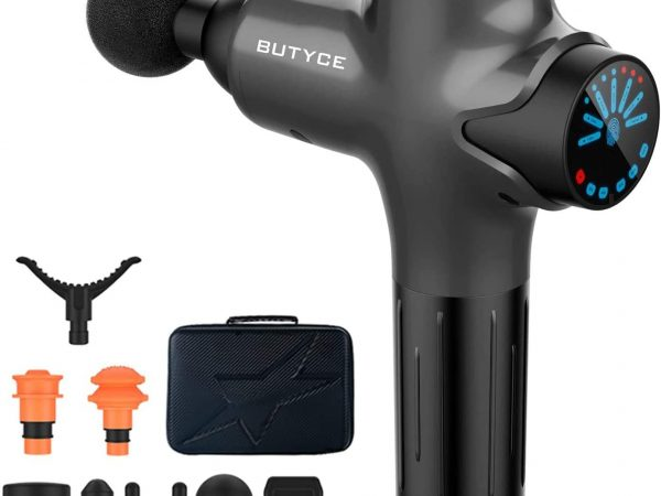 BUTYCE Massage Gun Deep Tissue Percussion Muscle Massage for Pain Relief
