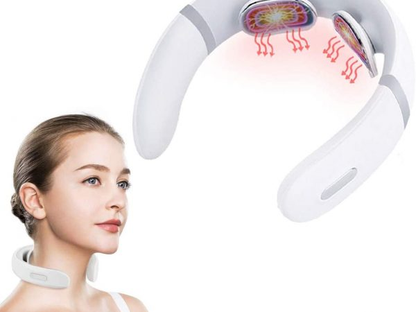 Smart Neck Massager with Heat Therapy Massager for Neck Pain Relief $10.98(80%OFF)
